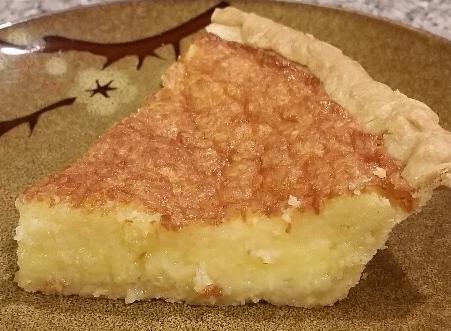 Buttermilk Chess Pie…Yummy