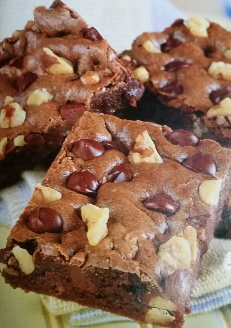 Double Chocolate ChipBrownies