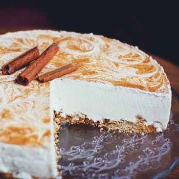 white cheesecake